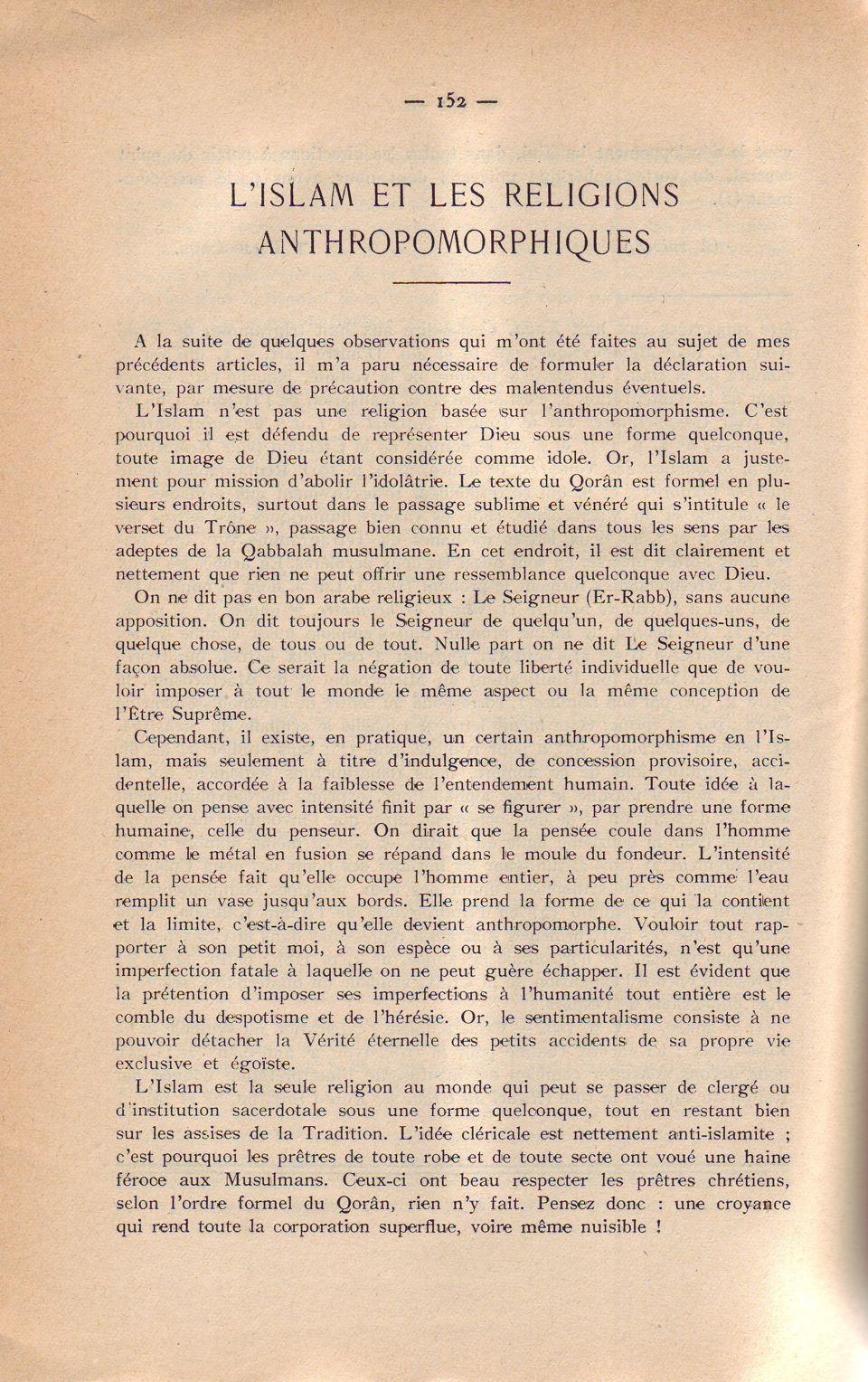 L´Islam...phiques 1. 152