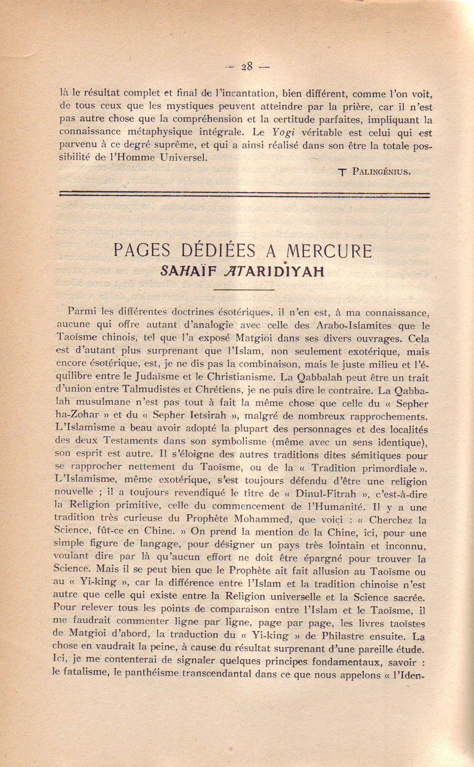 Pages..Mércure . 28